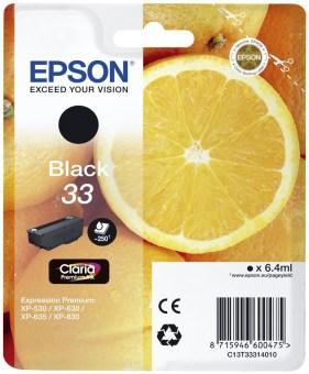 Originální cartridge EPSON T3331 (Černá)