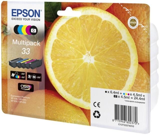 Sada originálních cartridge EPSON T3337 - obsahuje T3331-T3344