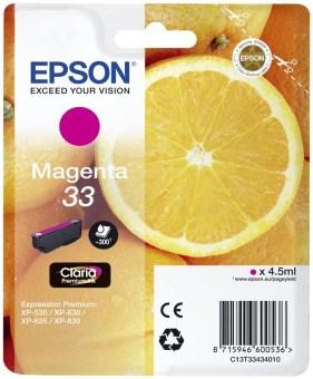Originální cartridge EPSON T3343 (Purpurová)