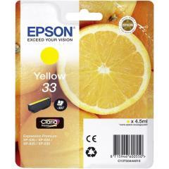 Cartridge do tiskárny Originální cartridge Epson T3344 (Žlutá)
