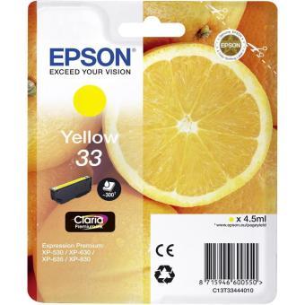 Originální cartridge Epson T3344 (Žlutá)