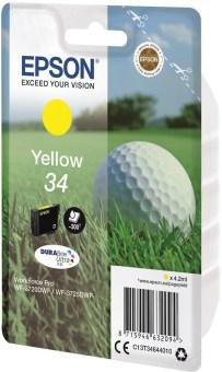 Originální cartridge EPSON T3464 (Žlutá)