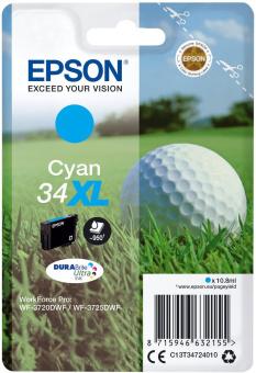 Originální cartridge EPSON T3472 (Azurová)