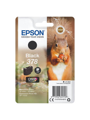 Originální cartridge EPSON č. 378 (T3781) (Černá)