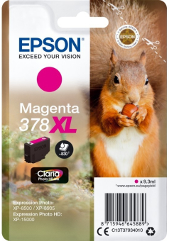 Originální cartridge EPSON č. 378 XL (T3793) (Purpurová)