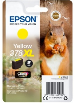 Originální cartridge EPSON č. 378 XL (T3794) (Žlutá)