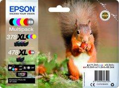 Sada originálních cartridge EPSON č. 378 XL a 478 XL (T379D)