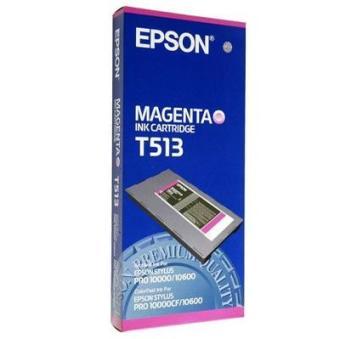 Originální cartridge EPSON T513 (Purpurová)