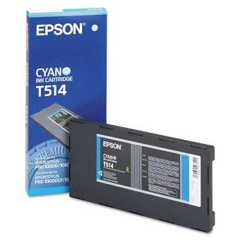 Originální cartridge EPSON T514 (Azurová)