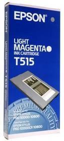 Originální cartridge EPSON T515 (Světle purpurová)