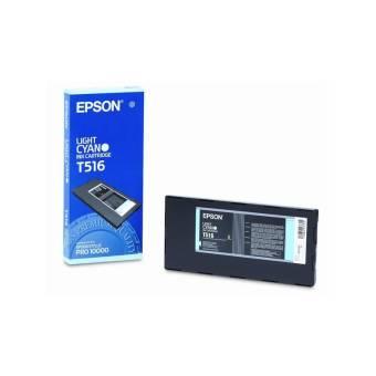 Originální cartridge EPSON T516 (Světle azurová)