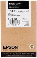 Cartridge do tiskárny Originální cartridge EPSON T5431 (Foto černá)