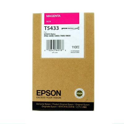 Originální cartridge EPSON T5433 (Purpurová)