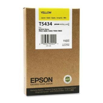 Originální cartridge EPSON T5434 (Žlutá)