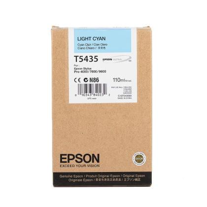 Originální cartridge EPSON T5435 (Světle azurová)