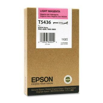 Originální cartridge EPSON T5436 (Světle purpurová)