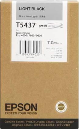 Originální cartridge EPSON T5437 (Světle černá)