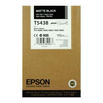 Originální cartridge EPSON T5438 (Matná černá)