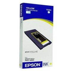 Cartridge do tiskárny Originální cartridge EPSON T5494 (Žlutá)