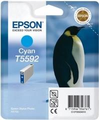 Cartridge do tiskárny Originální cartridge EPSON T5592 (Azurová)