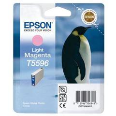 Cartridge do tiskárny Originální cartridge EPSON T5596 (Světle purpurová)