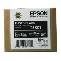 Cartridge do tiskárny Originální cartridge EPSON T5801 (Foto černá)