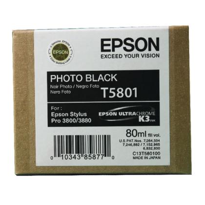 Originální cartridge EPSON T5801 (Foto černá)