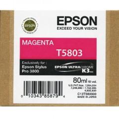 Cartridge do tiskárny Originální cartridge EPSON T5803 (Purpurová)