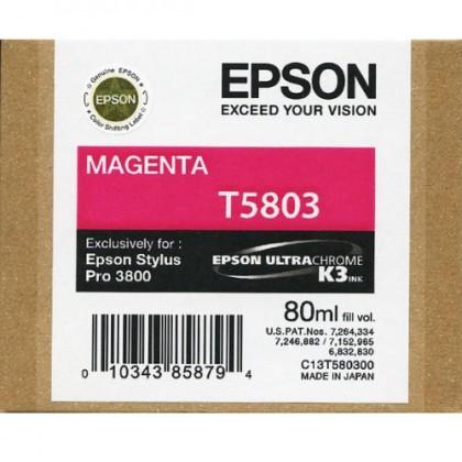 Originální cartridge EPSON T5803 (Purpurová)