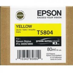Cartridge do tiskárny Originální cartridge EPSON T5804 (Žlutá)