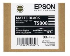 Cartridge do tiskárny Originální cartridge EPSON T5808 (Matně černá)