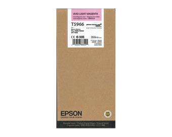 Originální cartridge EPSON T5966 (Živě světle purpurová)