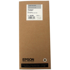 Cartridge do tiskárny Originální cartridge EPSON T5967 (Světle černá)