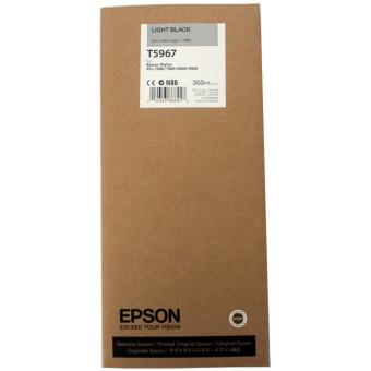 Originální cartridge EPSON T5967 (Světle černá)