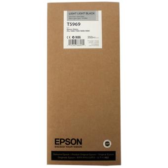 Originální cartridge EPSON T5969 (Světle světle černá)
