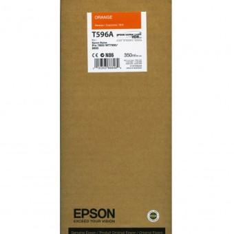 Originální cartridge EPSON T596A (Oranžová)