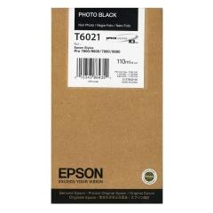 Cartridge do tiskárny Originální cartridge EPSON T6021 (Foto černá)