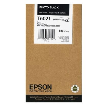 Originální cartridge EPSON T6021 (Foto černá)
