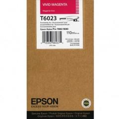 Cartridge do tiskárny Originální cartridge Epson T6023 (Živě purpurová)