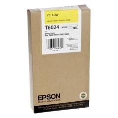 Cartridge do tiskárny Originální cartridge EPSON T6024 (Žlutá)