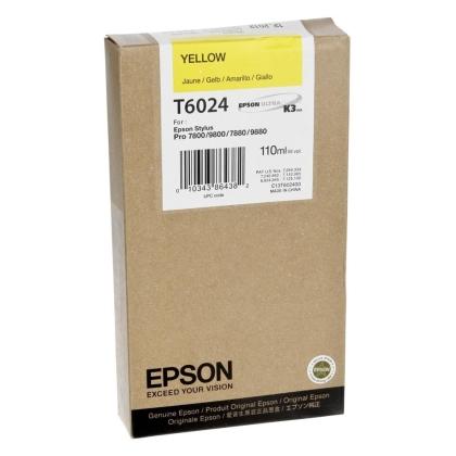 Originální cartridge EPSON T6024 (Žlutá)