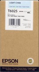 Cartridge do tiskárny Originální cartridge EPSON T6025 (Světle azurová)