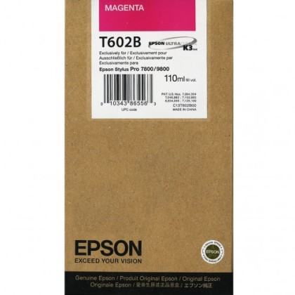 Originální cartridge EPSON T602B (Purpurová)