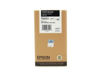 Originální cartridge EPSON T6031 (Foto černá)