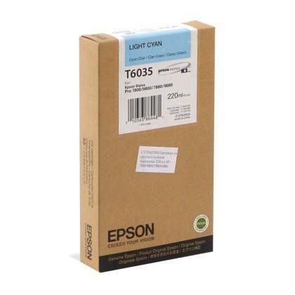 Originální cartridge EPSON T6035 (Světle azurová)