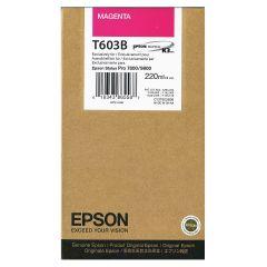 Cartridge do tiskárny Originální cartridge EPSON T603B (Purpurová)