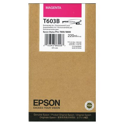 Originální cartridge EPSON T603B (Purpurová)