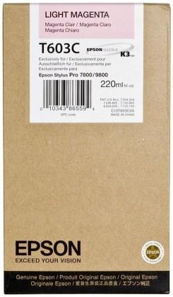 Originální cartridge EPSON T603C (Světle purpurová)