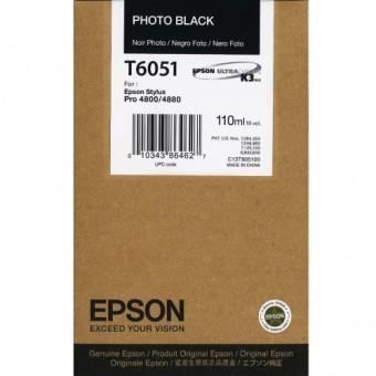 Originální cartridge EPSON T6051 (Foto černá)
