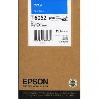 Originální cartridge EPSON T6052 (Azurová)